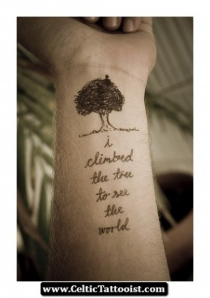 Celtic Quotes Sayings Tattoos 09