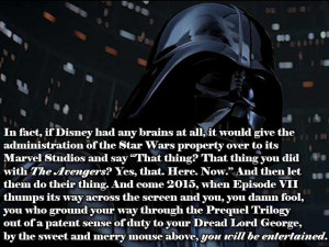 Disney just bought the Star Wars franchise. This could be awesome.