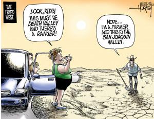 California's severe drought exposes civilization's thin veneer