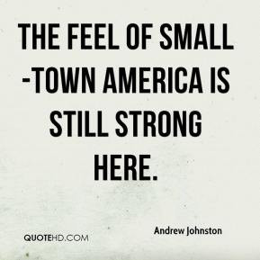 Funny Quotes About Small Towns