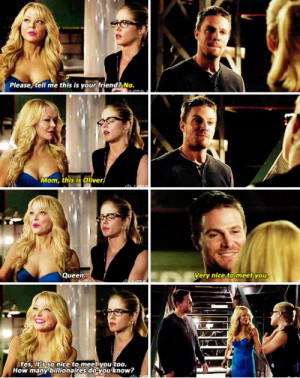 Felicity Smoak And Oliver Queen Quote