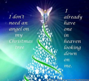 angels looking down on me