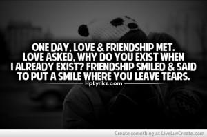 cute, friendship and love, love, pretty, quote, quotes