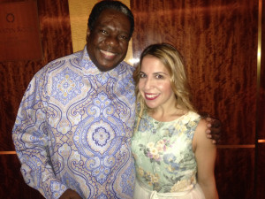 With, to quote Kidjo, the 'incomparable' Vusi Mahlasela