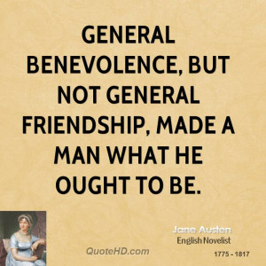 Jane Austen Friendship Quotes