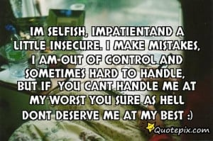 Movie Quotes Funny Selfish Impatient And Say About