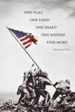 American Flag at Iwo Jima Posters