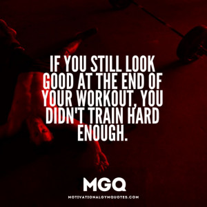 Still look good after your workout?