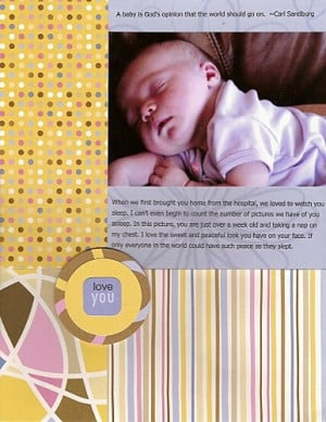 Special baby quotes wallpapers