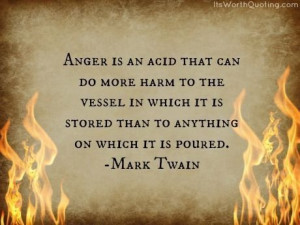 Anger Quotes by ItsWorthQuoting.com