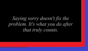 sorry quotes and sayings