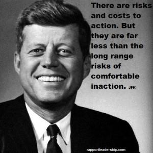 JFK quote inaction