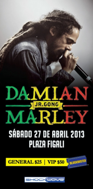 Damian Marley Presentar Xico