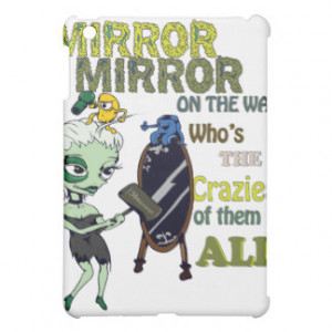 Mirror Mirror on the Wall iPad Mini Case