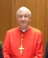 Archbishop of Birmingham celebrates with new Cardinal Vincent Nichols