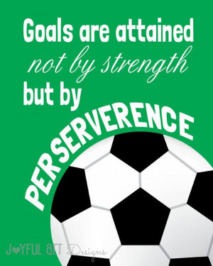 Set of 3 Motivating Sports Quotes PRINTABLE Signs. Football Soccer ...