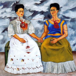 Frida Kahlo, Le due Frida , 1939