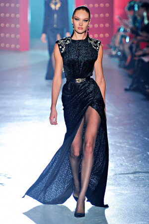 Candice Swanepoel at the Jason Wu Fall/Winter 2012 RTW show.Photograph ...