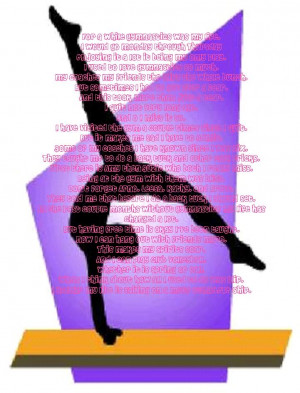 Gymnastics Quotes And Poems Poems About Gymnastics