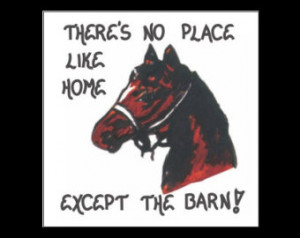 Magnet - Horse Quote - barn, stable s, equestrians, equine enthusiasts ...