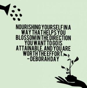 Self Care Quotes Deborah day quote