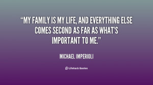My Family Is Everything Quotes