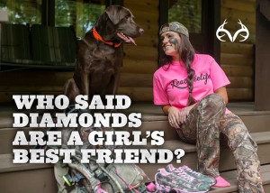 Who said diamonds are a girl's best friend? #Realtreequotes