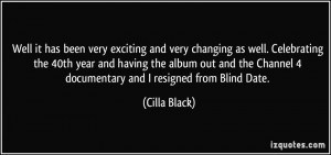 More Cilla Black Quotes
