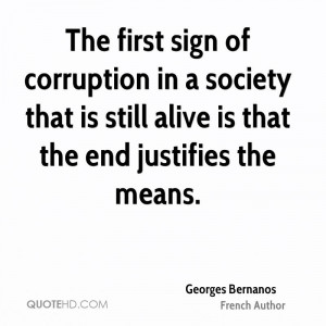 Georges Bernanos Society Quotes