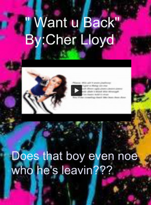 Bgr Vinyl Cher Lloyd Want Back