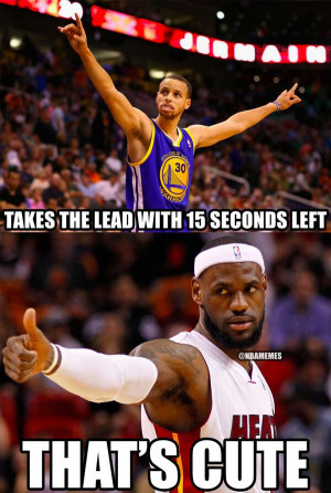 After Stephen Curry TIES the game, LeBron James hits the 3-Point GAME ...