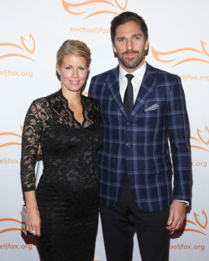 Henrik Lundqvist and Therese Andersson 2014 A Funny Thing Happened