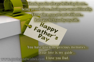 ... fathers day wishes and beautiful messages. Happy fathers day quotes