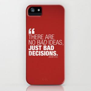 Design Famous Quotes iPhone & iPod Case