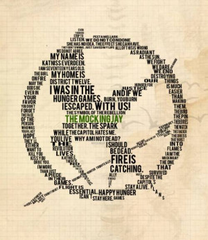 Games Concrete Picture, A bunch of sayings from The Hunger Games ...