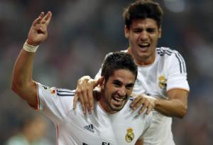 Real Madrid Isco And Alvaro