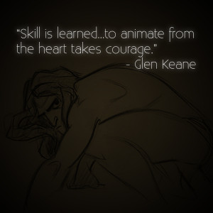 10 Awesome Quotes by Disney Legend Glen Keane