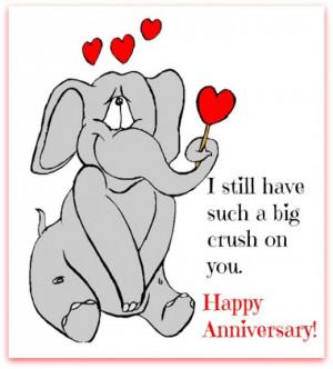 Happy 1 Year Wedding Anniversary Quotes Anniversary wishes cartoon