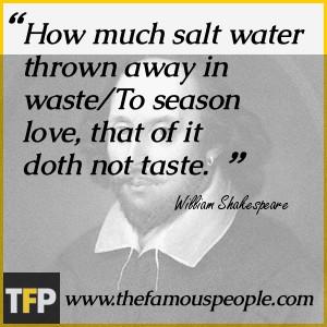Romantic Shakespeare Quotes