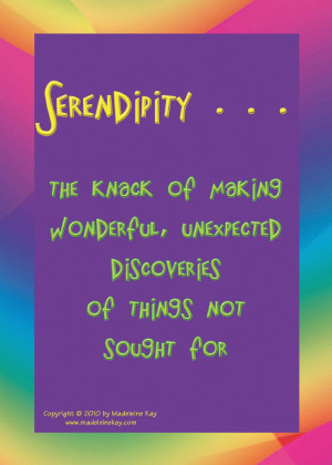 Journeys of Serendipity