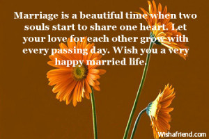 ... marriage wishes quotes for a happy married life a happy married life