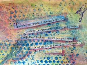 Life Journal Workshop: Using Inspirational Quotes in your Journal