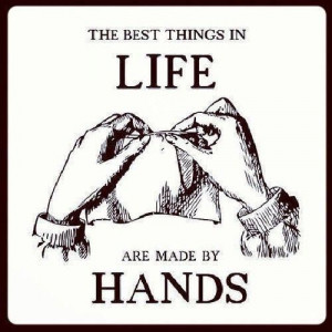 Don't undervalue hand made……. While this is a nice sentiment I ...