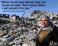 ... and earnestness of this child's quote in the midst of tragedy