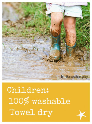 the benefits of playing in the mud the dirt the water and the sand to ...