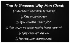 ... Men Cheat #cheater #cheat #infidelity #relationships #quotes More