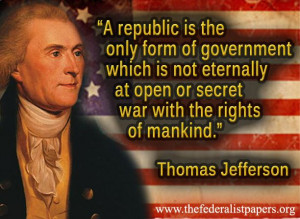 Thomas Jefferson Quote, The Security of a Written Constitution