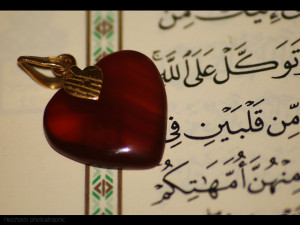 ... love of Quran and love of Shaytaan can not be in the same heart