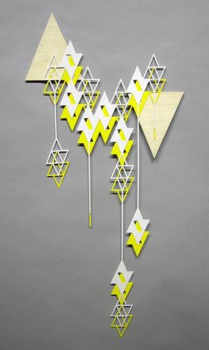falling triangles by sandra fettingis, via Flickr