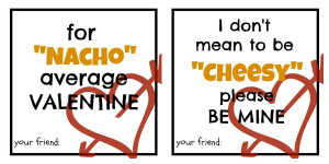 Cheesy Valentine's Day Sayings